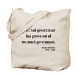 Thomas Jefferson 8 Tote Bag