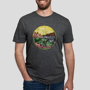 Montana Vintage State Flag T-Shirt
