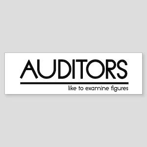 Auditor Joke Bumper Sticker