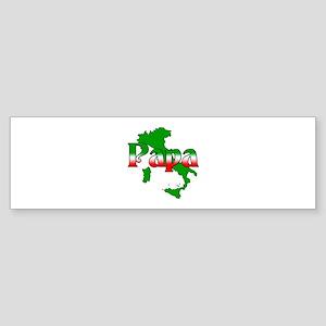 Italian Papa Bumper Sticker