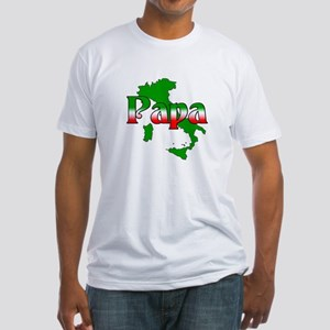 Italian Papa Fitted T-Shirt