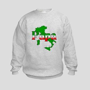 Italian Papa Kids Sweatshirt