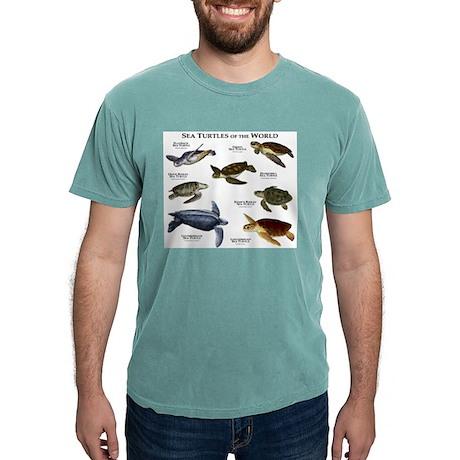 A Livello Di Tartaruga Marina (camuffamento) Manica Lunga T-shirt UjUgV