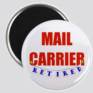 Retired Mail Carrier Magnet