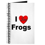 I Love Frogs Journal