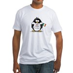 Ireland Penguin Fitted T-Shirt