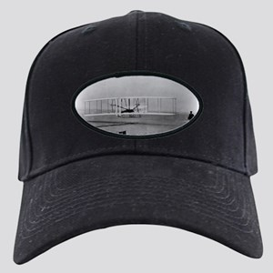 Wright Brothers First Flight Black Cap