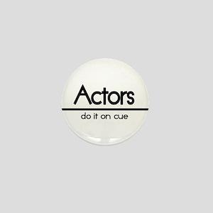 Actor Joke Mini Button