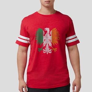 Irish Flag Polish Eagle T-Shirt
