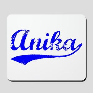 Vintage Anika (Blue) Mousepad