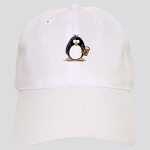 Beer Drinking Penguin Cap