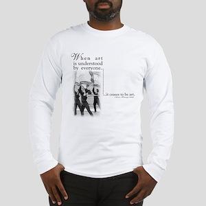 Guard is art Long Sleeve T-Shirt