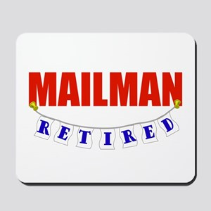 Retired Mailman Mousepad