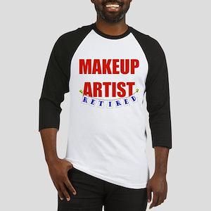 Retired Makeup Artist Baseball Jersey