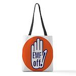 EMF off! Polyester Tote Bag