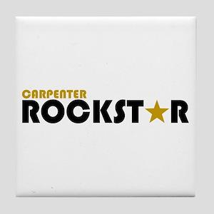 Carpenter Rockstar 2 Tile Coaster