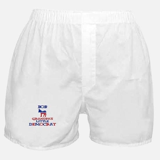 Bob - Grandpa's Little Democr Boxer Shorts