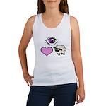 Eye Love Ewe Women's Tank Top