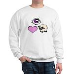 Eye Love Ewe Sweatshirt
