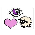 Eye Love Ewe Postcards (Package of 8)