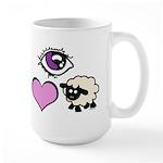 Eye Love Ewe Large Mug