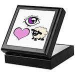 Eye Love Ewe Keepsake Box