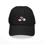 Eye Love Ewe Black Cap