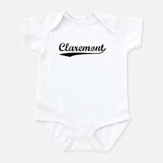 Vintage Claremont (Black) Infant Bodysuit
