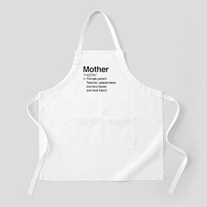 Mother Female Parent Light Apron