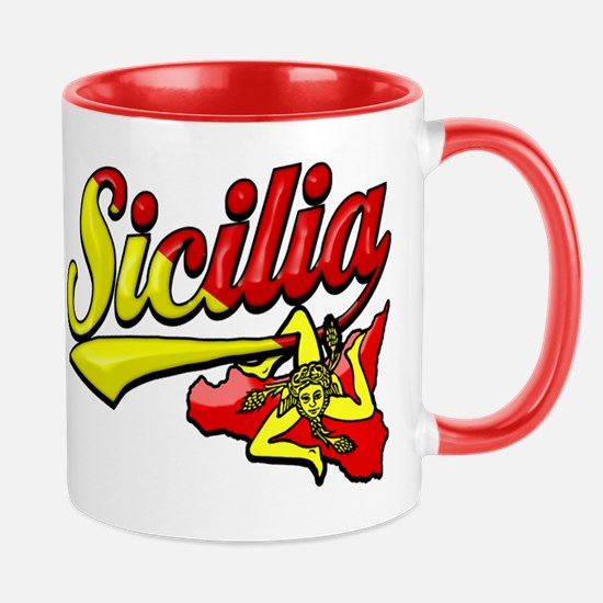 Classic Sicilian Trinacria Mug