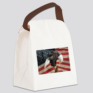 United States of America prayer Canvas Lunch Bag