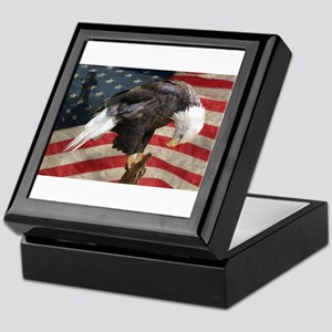 United States of America prayer Keepsake Box