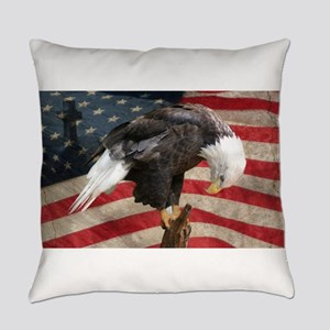 United States of America prayer Everyday Pillow