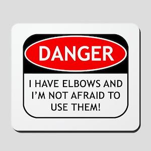 Use Elbows Mousepad
