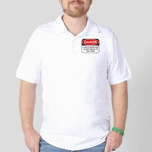 Use Elbows Golf Shirt