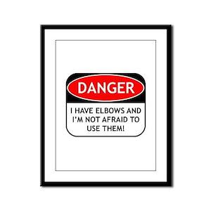Use Elbows Framed Panel Print