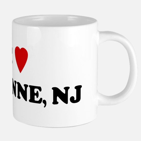 I Love Bayonne Mugs