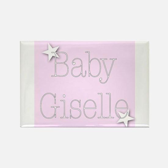 Unique Giselle Rectangle Magnet