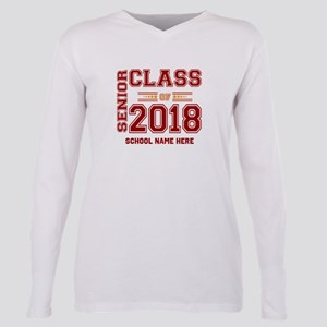 PERSONALIZED Senior Class of 2018 Red-Orange Gold