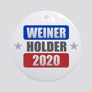 Weiner Holder 2020 Round Ornament