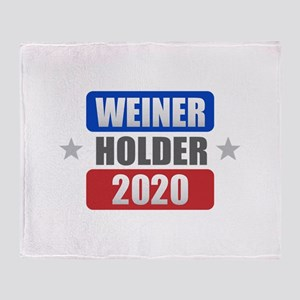Weiner Holder 2020 Throw Blanket