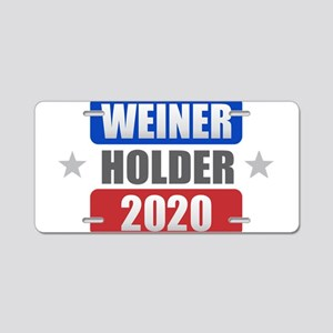 Weiner Holder 2020 Aluminum License Plate