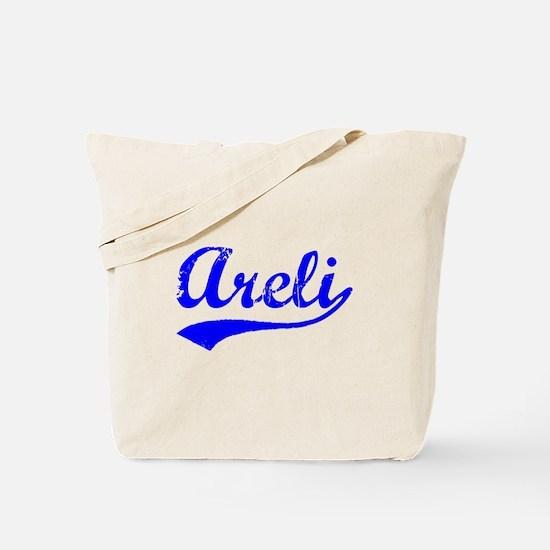 Vintage Areli (Blue) Tote Bag