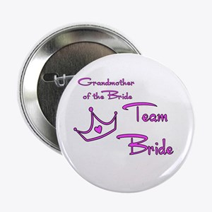 """Grandmother of the Bride Butt 2.25"""" Button"""