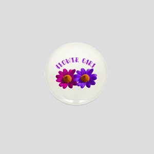 Flower Girl Buttons Mini Button