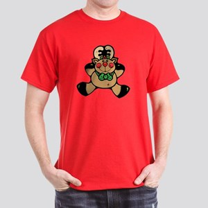 Rosy Cheeked Reindeer Dark T-Shirt