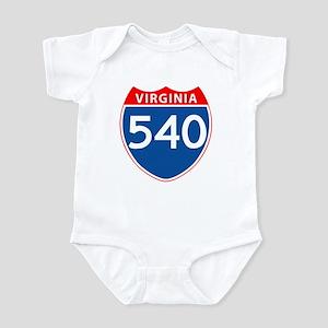 Area Code 540 Infant Bodysuit