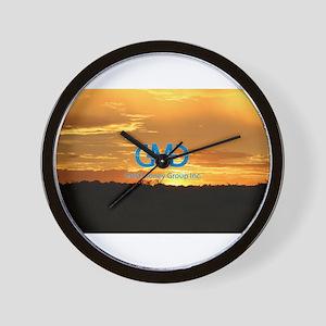 Sun Set Safari Wall Clock