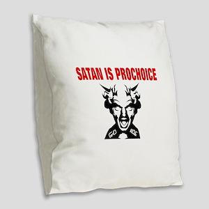 Cute Republican Burlap Throw Pillow