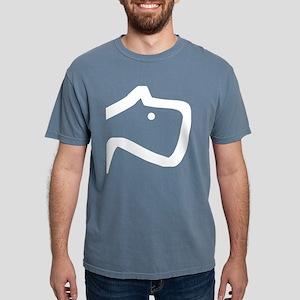B & W dog Women's Dark T-Shirt